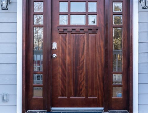 What is the best wood for an exterior door?