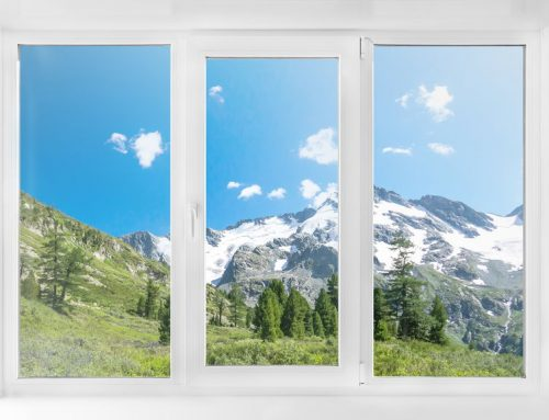 What are the benefits of using uPVC for window frames?